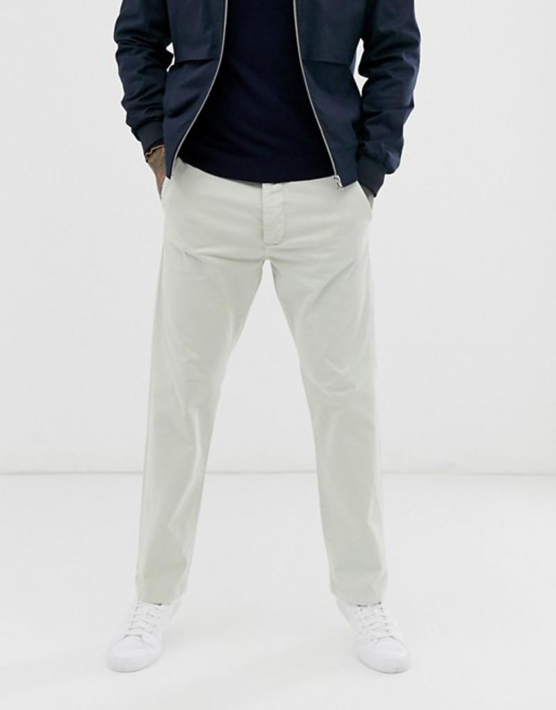 フレンチコネクション メンズ カジュアルパンツ ボトムス French Connection slim fit chino pants Stone