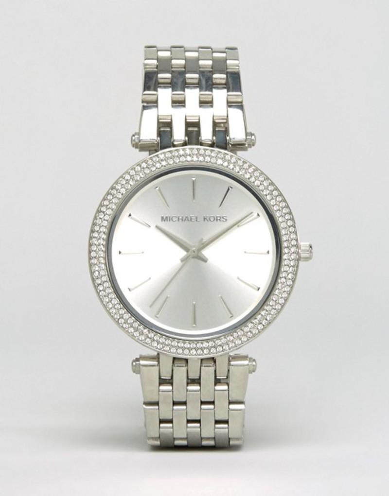 マイケルコース レディース 腕時計 アクセサリー Michael Kors MK3190 Darci silver watch Silver