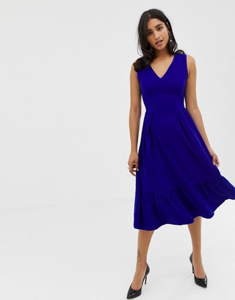 クローゼットロンドン レディース ワンピース トップス Closet Full Skirt Dress Royal blue