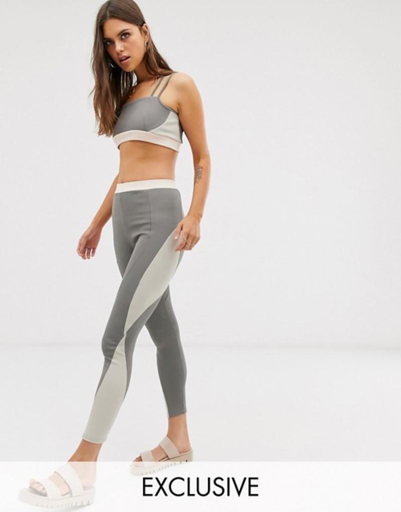 ミチャラウンジ レディース レギンス ボトムス Micha Lounge leggings two-piece Grey pink