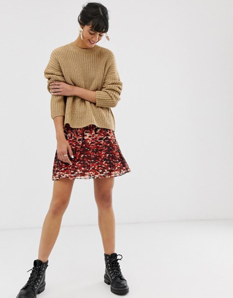 ホイッスルズ レディース スカート ボトムス Whistles ikat animal print flippy mini skirt Multi