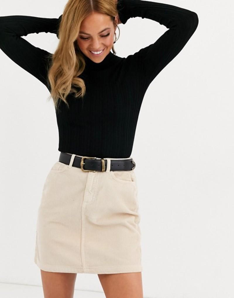 ミスセルフフリッジ レディース ニット・セーター アウター Miss Selfridge sweater with frill cuff in black Black