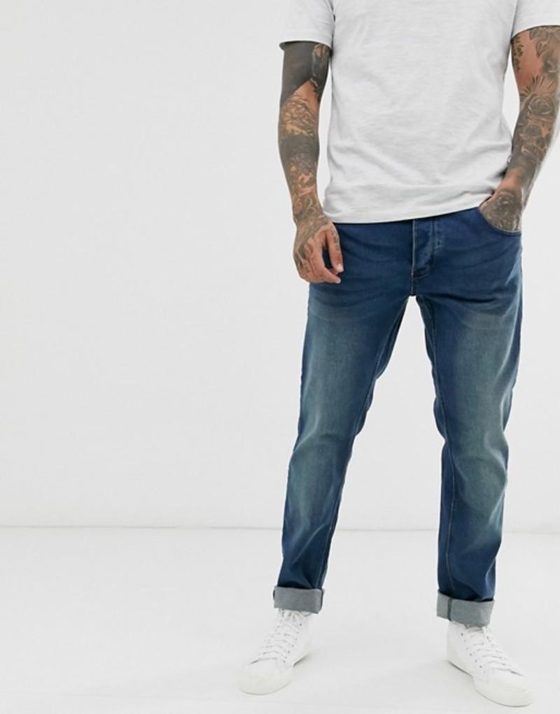 フレンチコネクション メンズ デニムパンツ ボトムス French Connection blue wash skinny fit jeans Blue