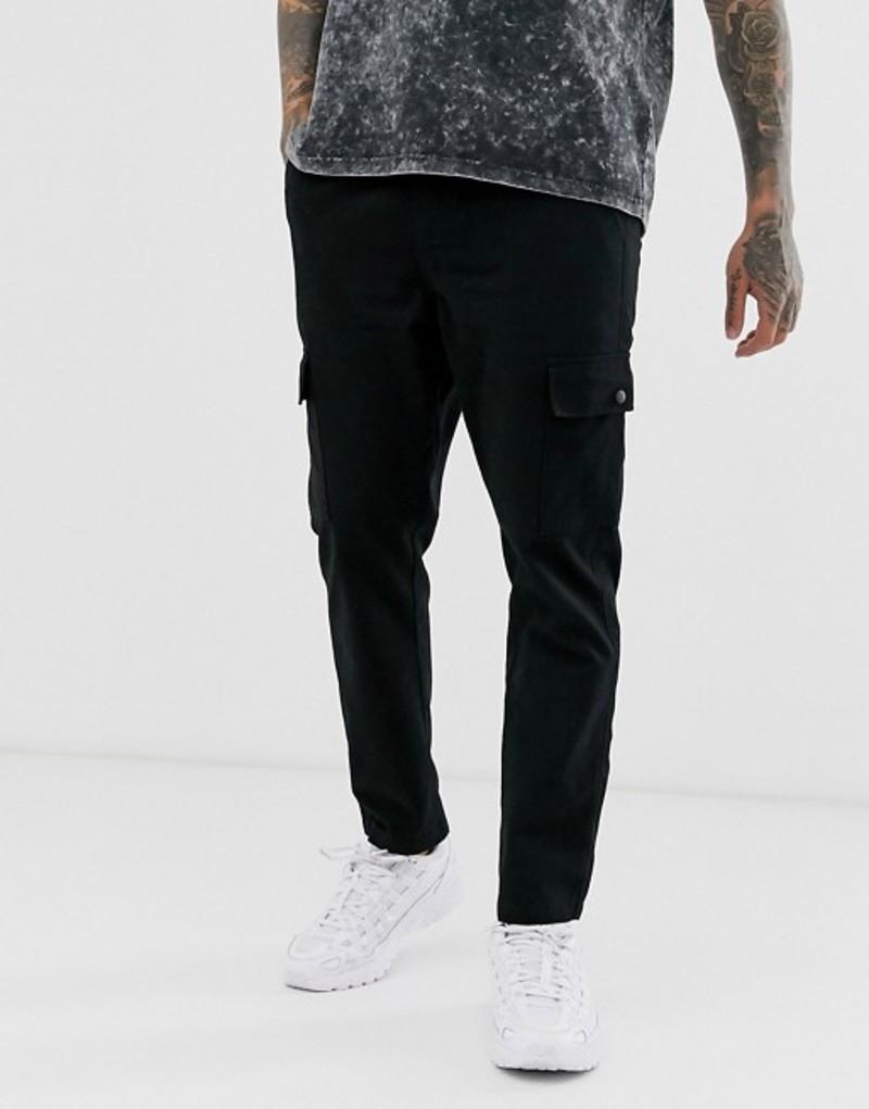 アナザーインフルエンス メンズ カジュアルパンツ ボトムス Another Influence utility cargo pants Black
