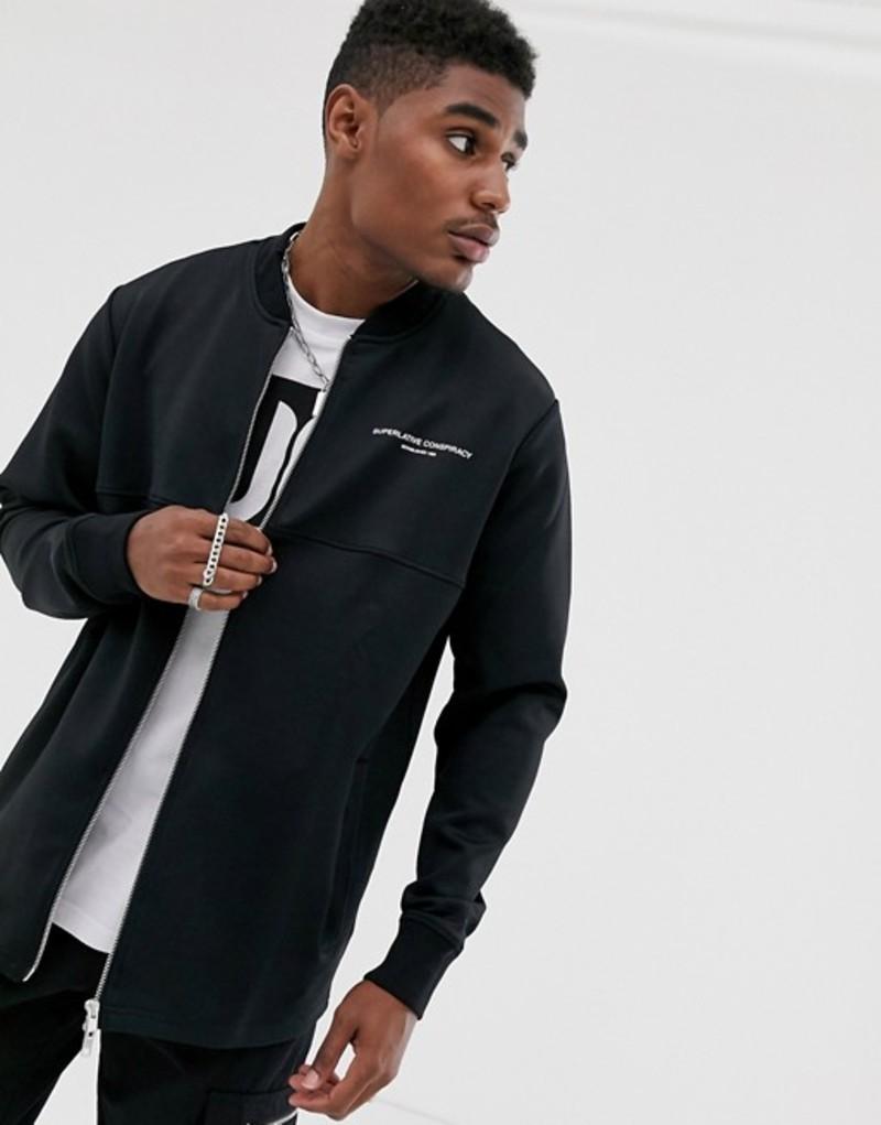 ウィーエスシー メンズ ジャケット・ブルゾン アウター WESC Webster wct jacket Black