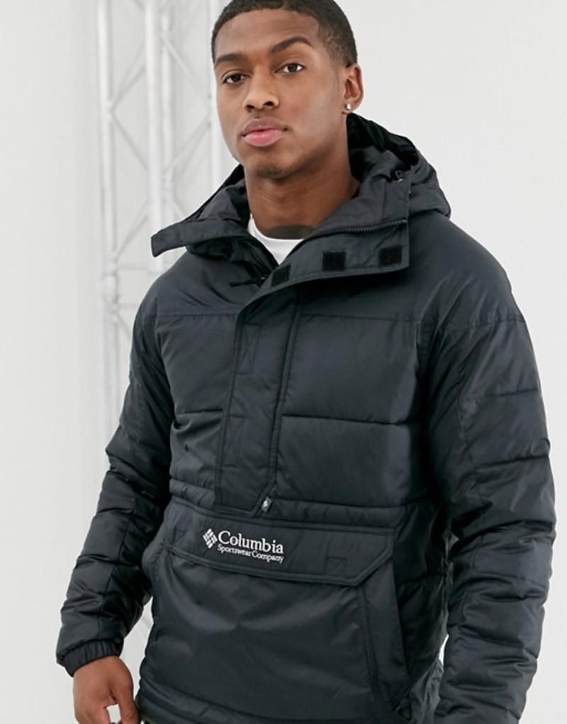 コロンビア メンズ ジャケット・ブルゾン アウター Columbia Columbia Lodge pullover jacket in black Black