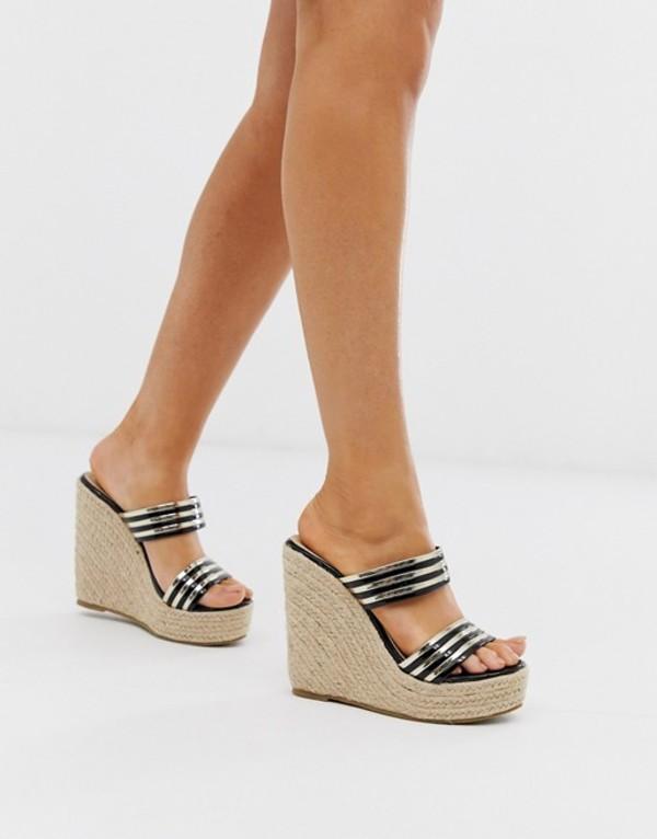 トリュフコレクション レディース サンダル シューズ Truffle Collection glam wedge sandals Multi