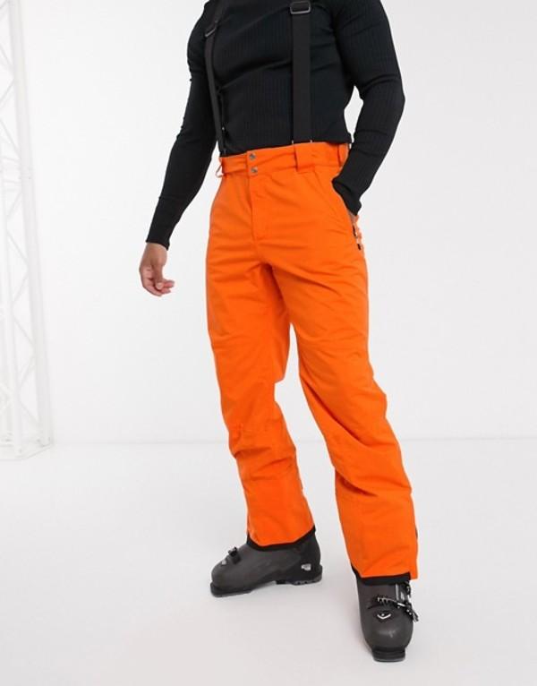 デアツービー メンズ カジュアルパンツ ボトムス Dare 2b Ski Achieve pant in orange Clementine orange
