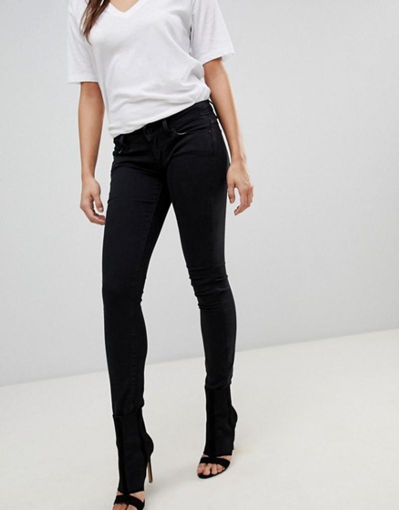 ジースター レディース デニムパンツ ボトムス G-Star BE RAW Skinny Jeans Black