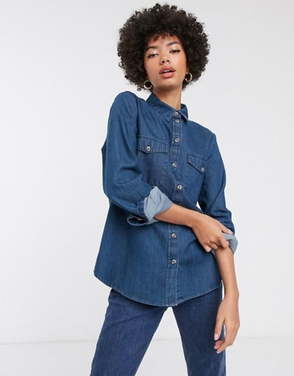 送料無料 サイズ交換無料 セレクティッド レディース ボトムス スカート blue denim Selected Femme 日時指定 国内在庫 Dark shirt