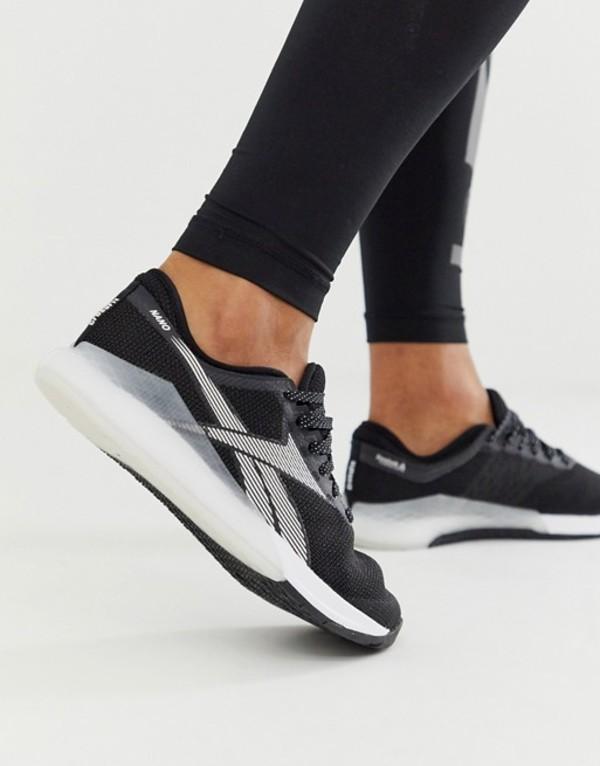 リーボック メンズ スニーカー シューズ Reebok Training nano 9.0 sneakers in black Black