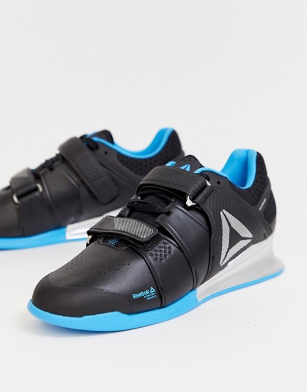リーボック メンズ スニーカー シューズ Reebok Training legacy lifter sneakers in blue Blue