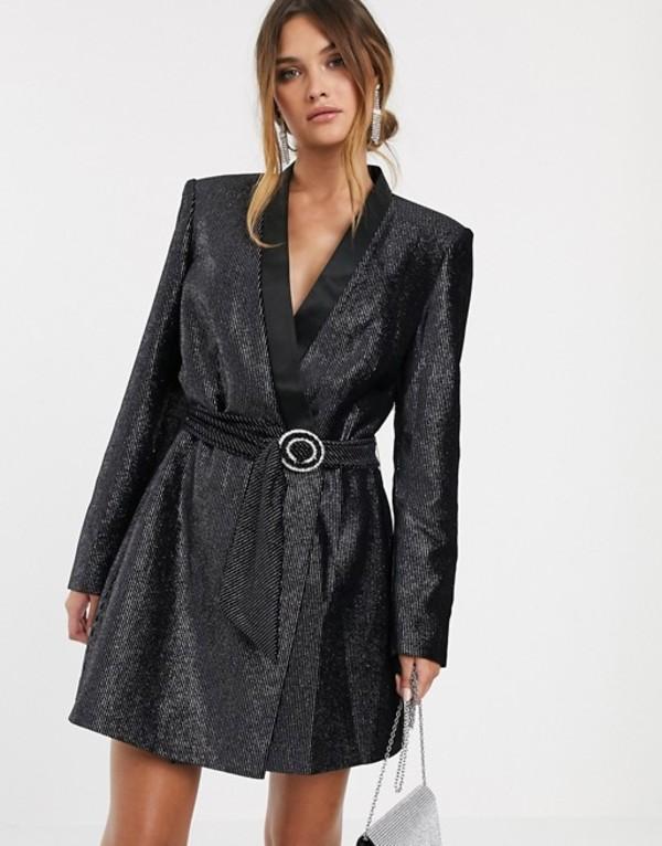 ブロンクス アンド バンコ レディース ワンピース トップス Bronx & Banco belle blazer dress dress Black