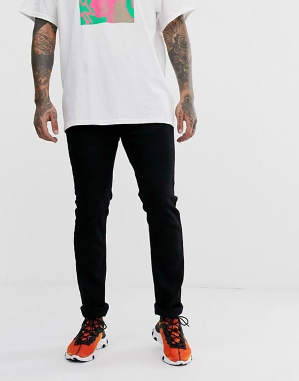 ウィーエスシー メンズ デニムパンツ ボトムス WESC Eddy slim jeans Black