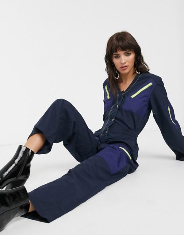 レイチェルアントノフ レディース ワンピース トップス Rachel Antonoff amelia flight suit Navy