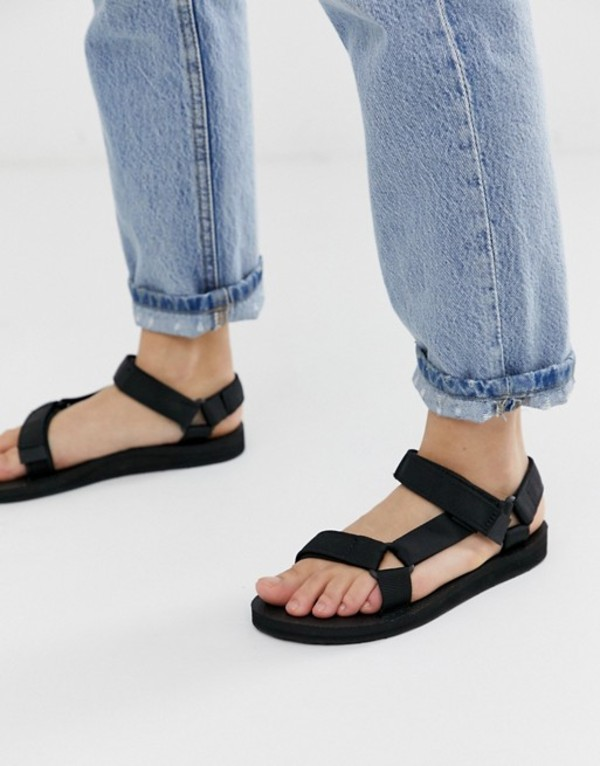 テバ レディース サンダル シューズ Teva Original Universal sandals in black Black