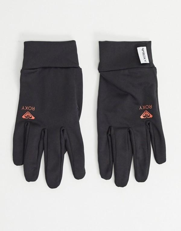 ロキシー レディース 手袋 アクセサリー Roxy Snow Hydrosmart Liner gloves in 黒 True 黒