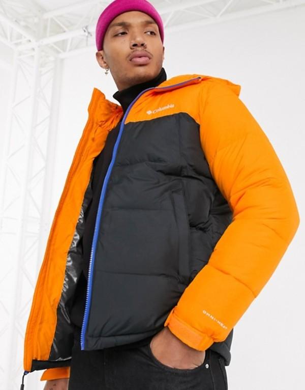 コロンビア メンズ ジャケット・ブルゾン アウター Columbia Pike Lake jacket in black Exclusive at ASOS Black