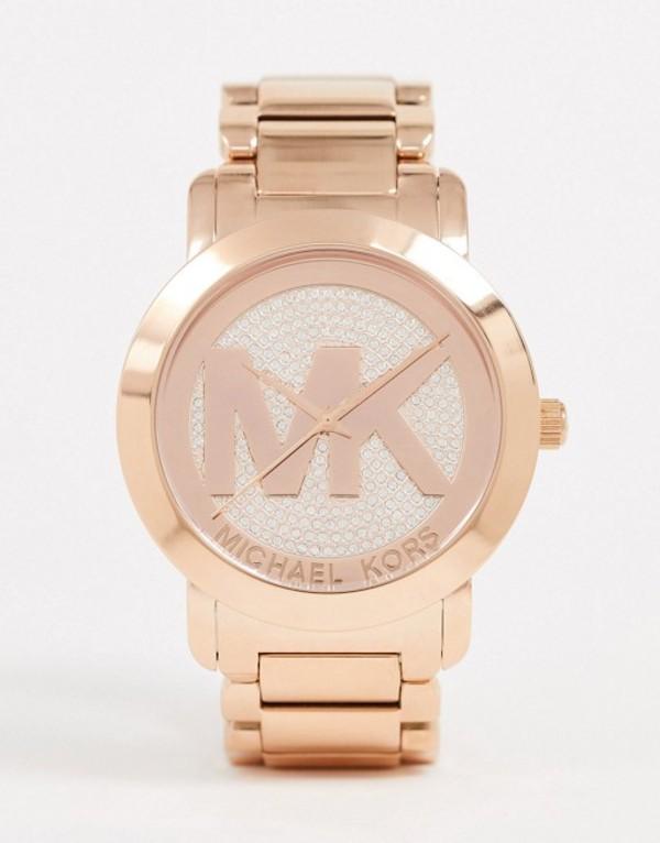 マイケルコース レディース 腕時計 アクセサリー Michael Kors ladies runway bracelet watch MK3463 Gold
