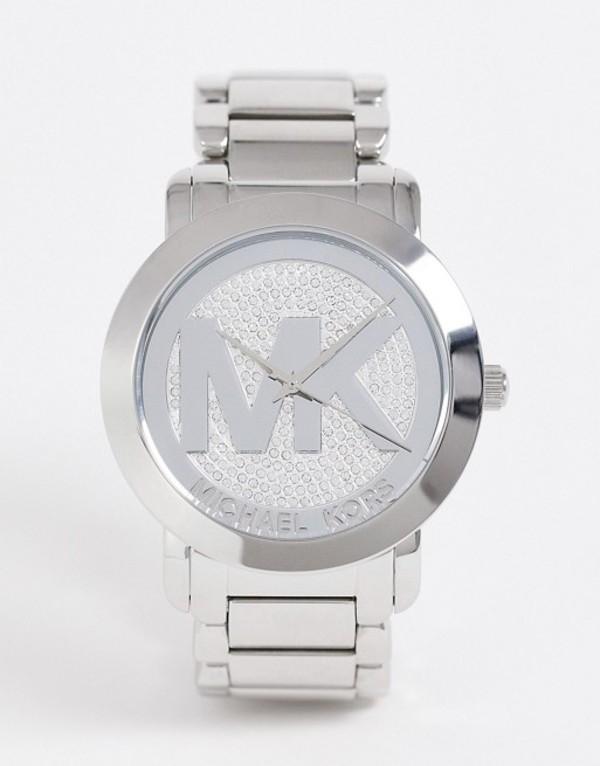 マイケルコース レディース 腕時計 アクセサリー Michael Kors ladies runway bracelet watch MK3461 Silver