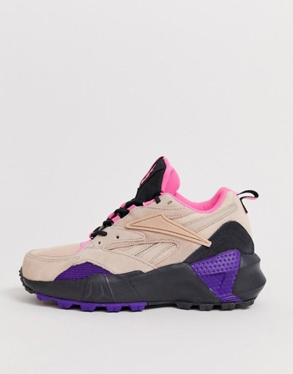 リーボック レディース スニーカー シューズ Reebok Aztrek Double trail shoe in pink Pink