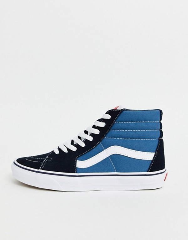バンズ メンズ スニーカー シューズ Vans SK8-Hi sneakers in navy Navy