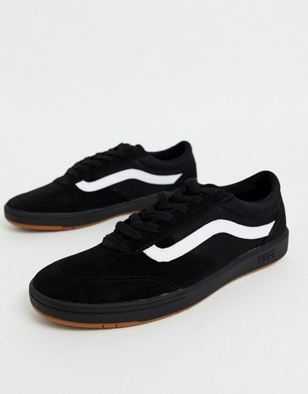 バンズ メンズ スニーカー シューズ Vans Cruze CC sneakers in black/black (staple) black/black