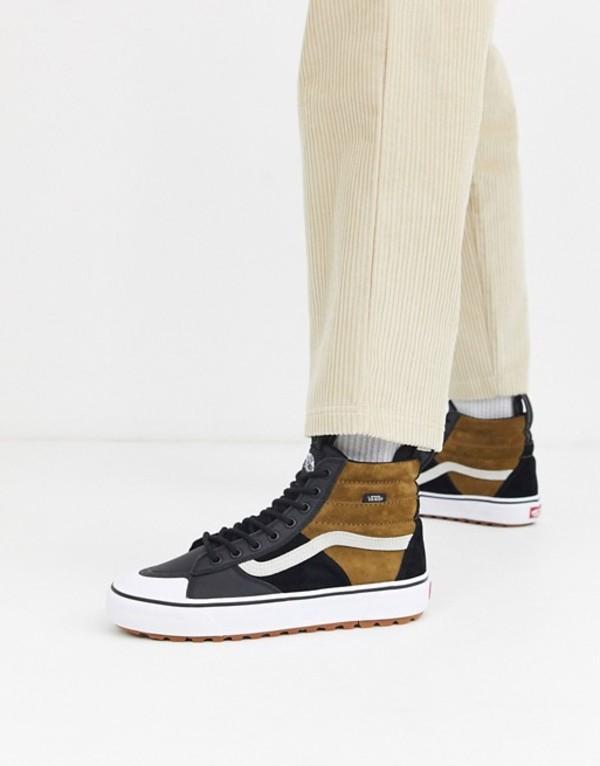 バンズ メンズ スニーカー シューズ Vans SK8-Hi MTE 2.0 DX sneakers in brown (mte) dirt/true whit