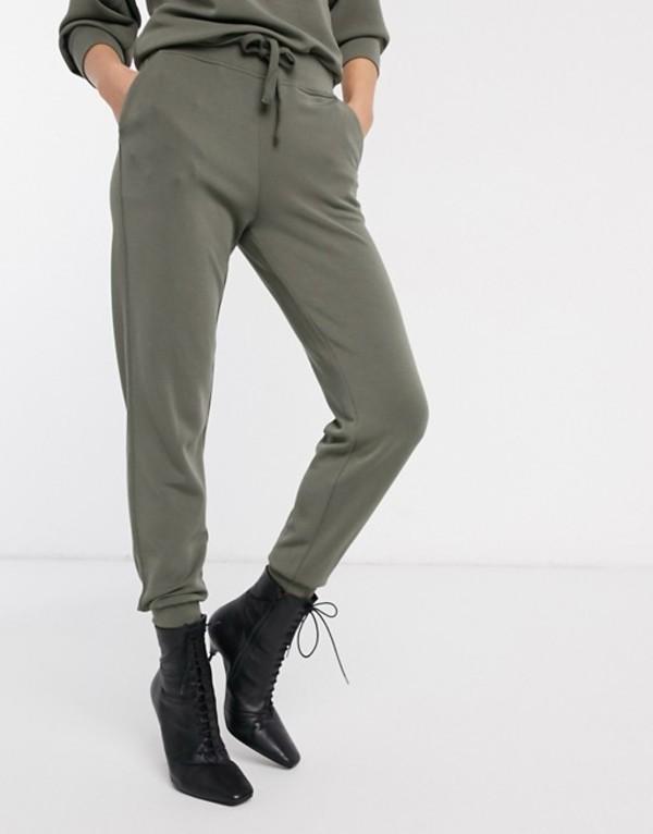 ウエアハウス レディース カジュアルパンツ ボトムス Warehouse sweatpants in khaki Khaki