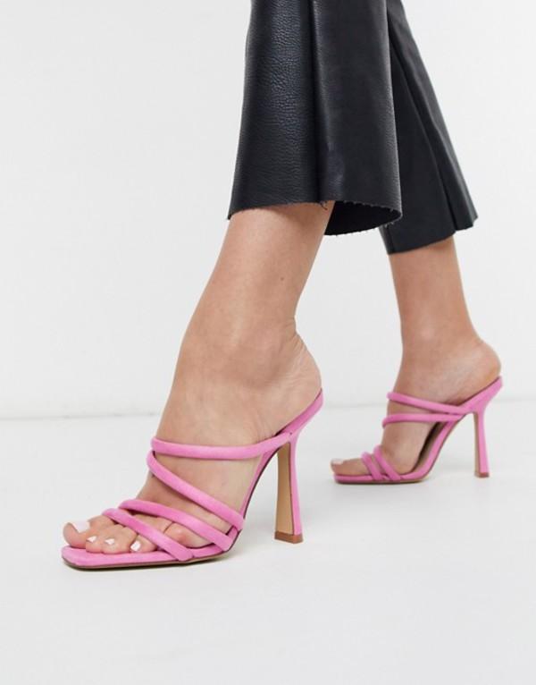 アルド レディース サンダル シューズ ALDO Arianna strappy heel sandal in pop pink Light pink