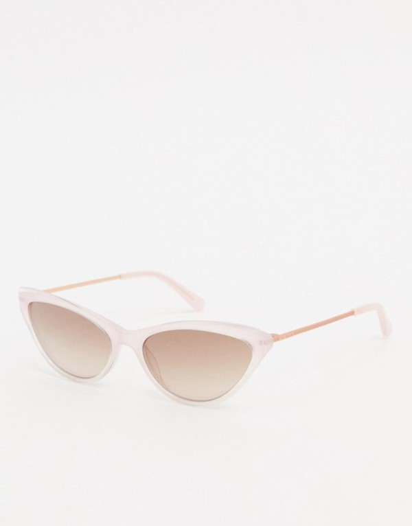 テッドベーカー レディース サングラス・アイウェア アクセサリー Ted Baker cat eye sunglasses in pink Pink