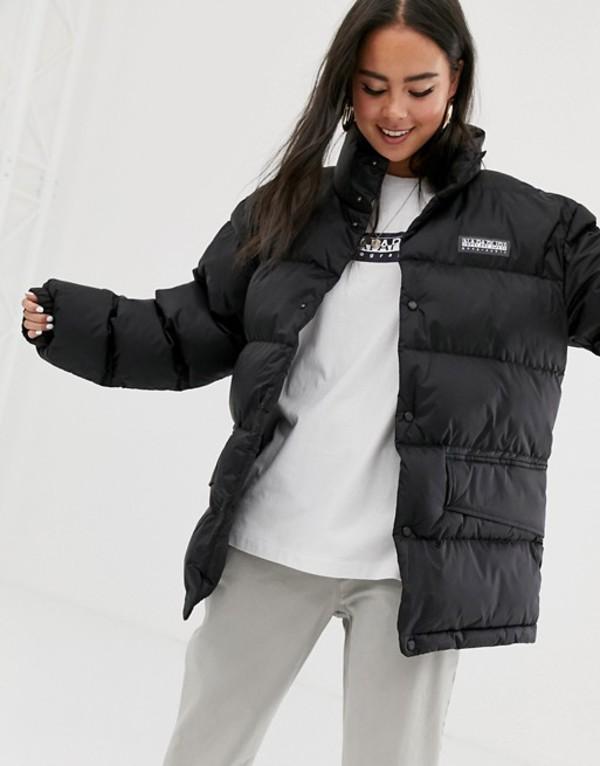 ナパピリ レディース ジャケット・ブルゾン アウター Napapijri Ari puffer jacket in black Black