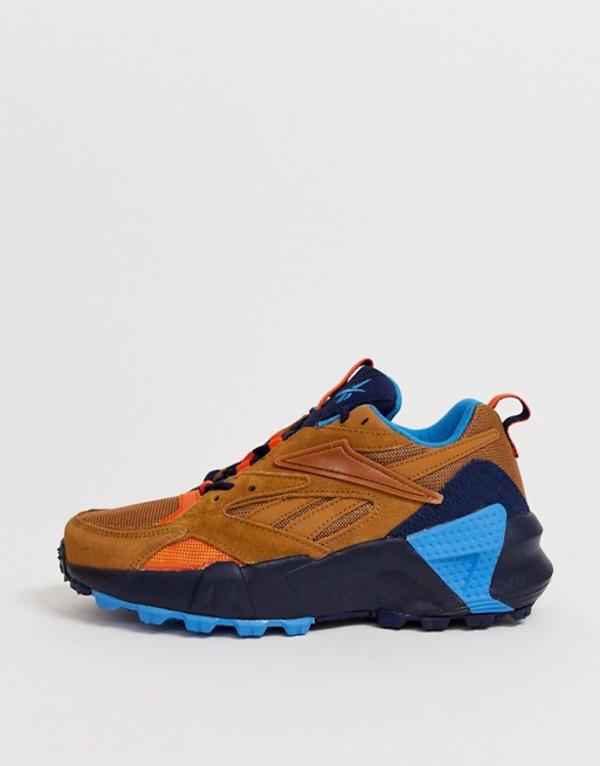 リーボック レディース スニーカー シューズ Reebok Aztrek Double trail shoe in sahara White