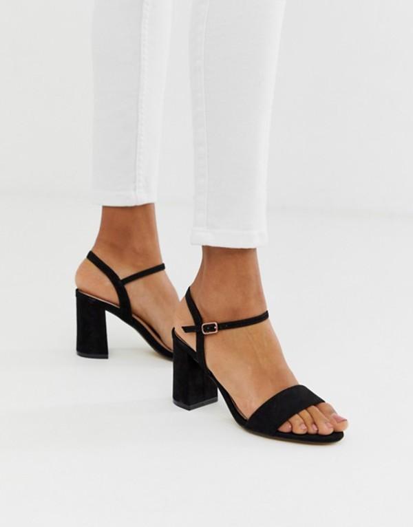 オフィス レディース サンダル シューズ OFFICE modesty block heel sandals Blk mf