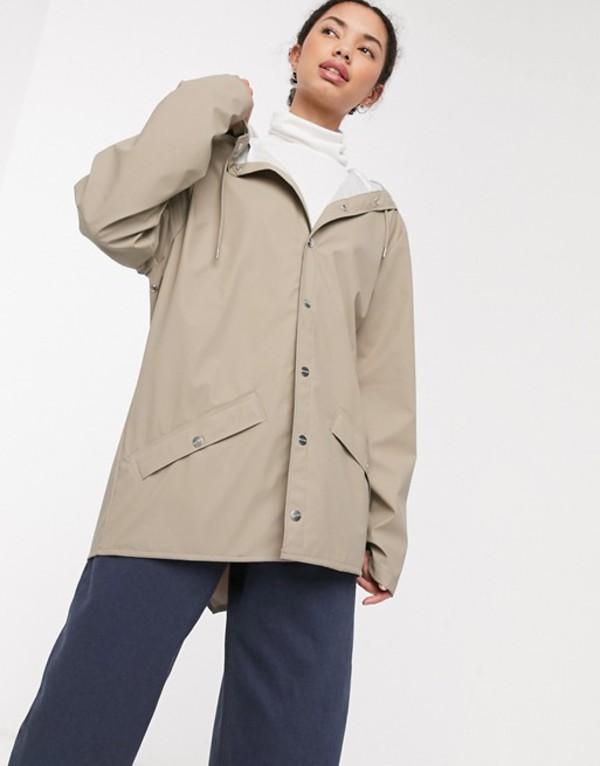 レインズ レディース ジャケット・ブルゾン アウター Rains short jacket Beige
