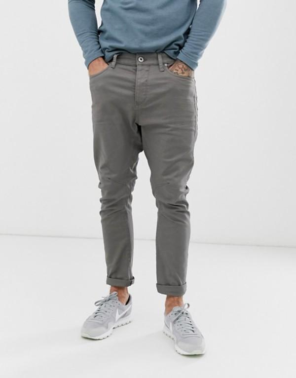 ジャック アンド ジョーンズ メンズ デニムパンツ ボトムス Jack & Jones LUKE slim fit jeans Gray