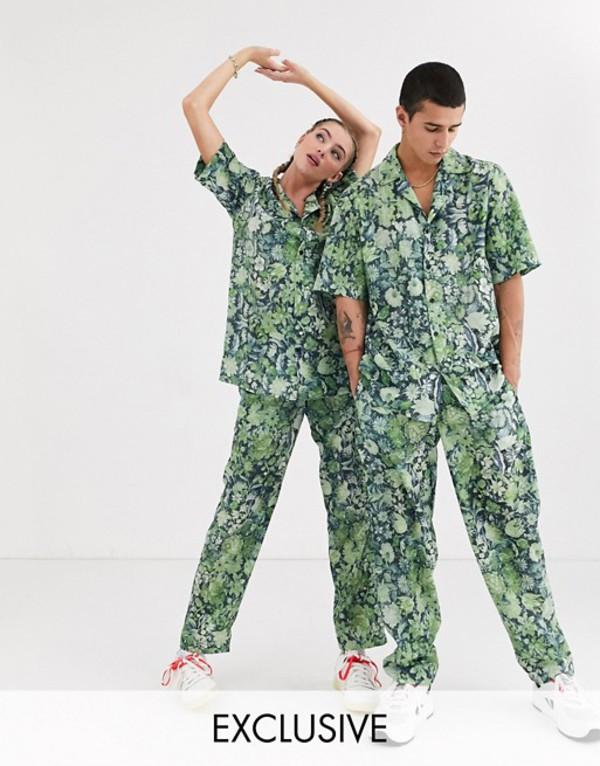 リクレイム ヴィンテージ メンズ カジュアルパンツ ボトムス Reclaimed Vintage unisex floral pants two-piece Multi