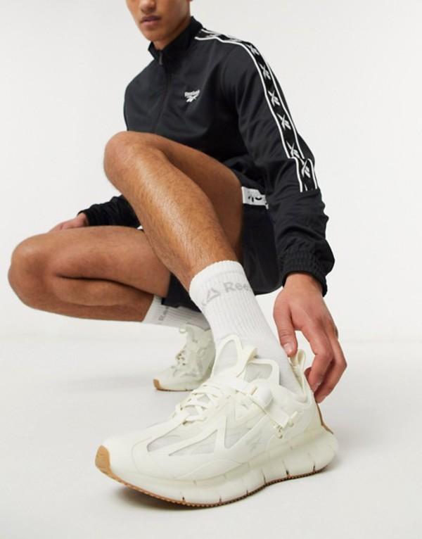 リーボック メンズ スニーカー シューズ Reebok Zig Kinetica sneakers in white White