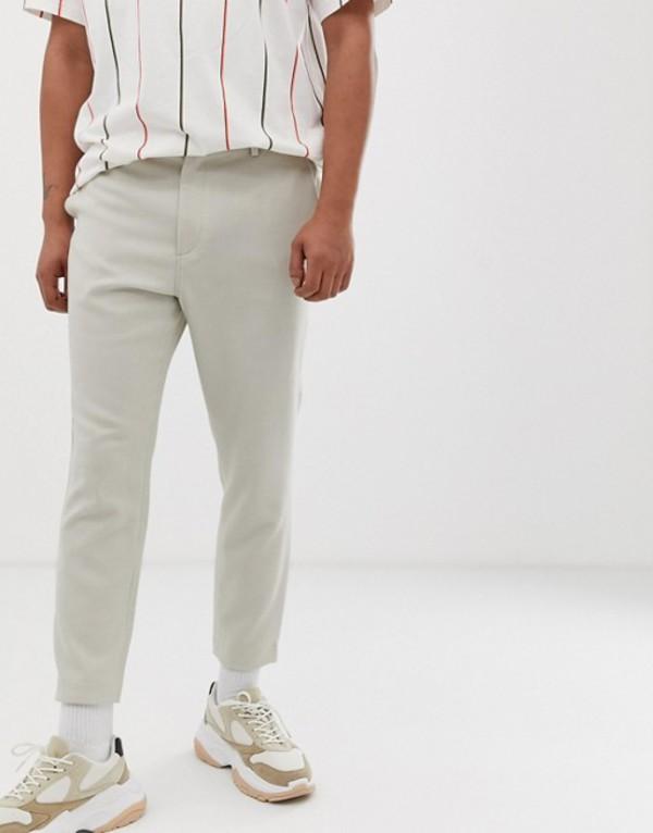 ウィークデイ メンズ カジュアルパンツ ボトムス Weekday Arvid tailored pants in beige Beige