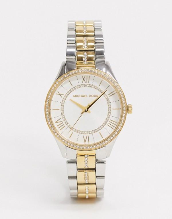 マイケルコース メンズ 腕時計 アクセサリー Michael Kors MK4454 Lauryn bracelet watch in mixed metal Multi