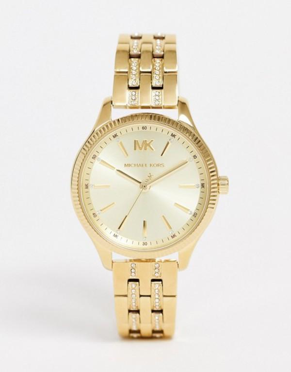 マイケルコース レディース 腕時計 アクセサリー Michael Kors MK6739 Lexington bracelet watch in gold Gold