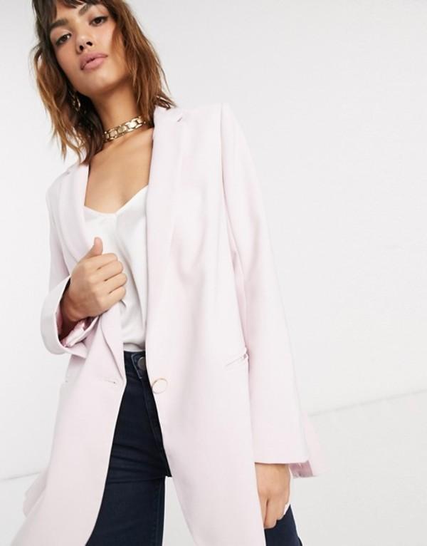クローゼットロンドン レディース ジャケット・ブルゾン アウター Closet double vent boxy jacket Pink