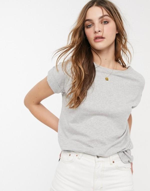 オールセインツ レディース Tシャツ トップス AllSaints imogen t-shirt Gray