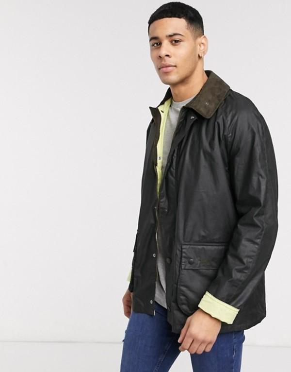 バーブァー メンズ ジャケット・ブルゾン アウター Barbour Beacon Morgan jacket in sage Green
