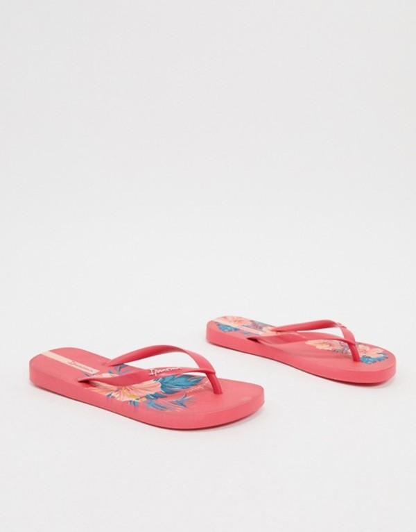 イパネマ レディース サンダル シューズ Ipanema Botanicals Scent flip flop sandal in pink Pink
