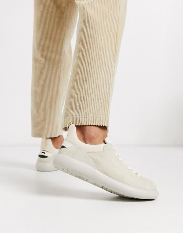 カンペール メンズ スニーカー シューズ Camper one tone sneaker in beige Beige
