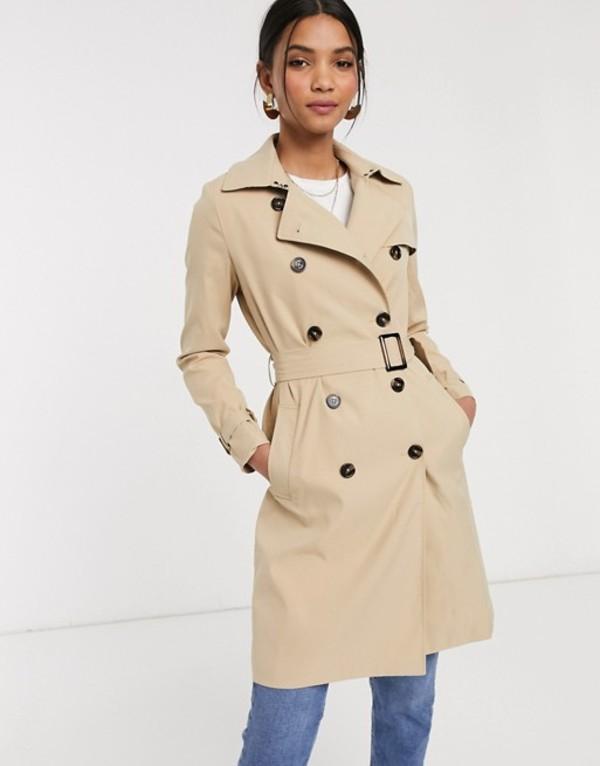 ビーヤング レディース コート アウター b. Young trench coat Nomad
