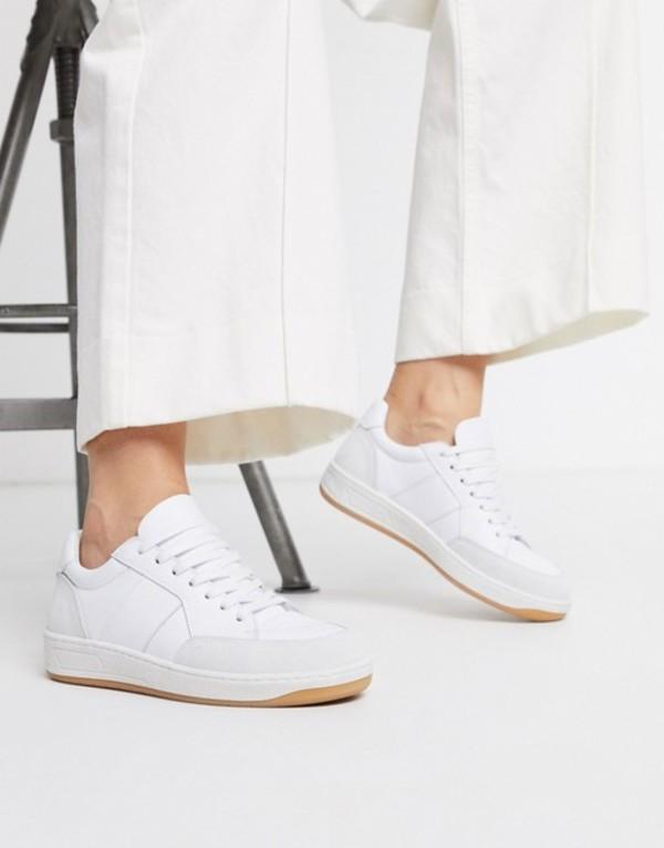 ホイッスルズ レディース スニーカー シューズ Whistles kew sneaker White