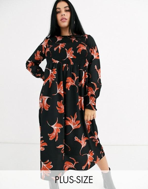 ジュナローズ レディース ワンピース トップス Junarose floral midi dress Floral