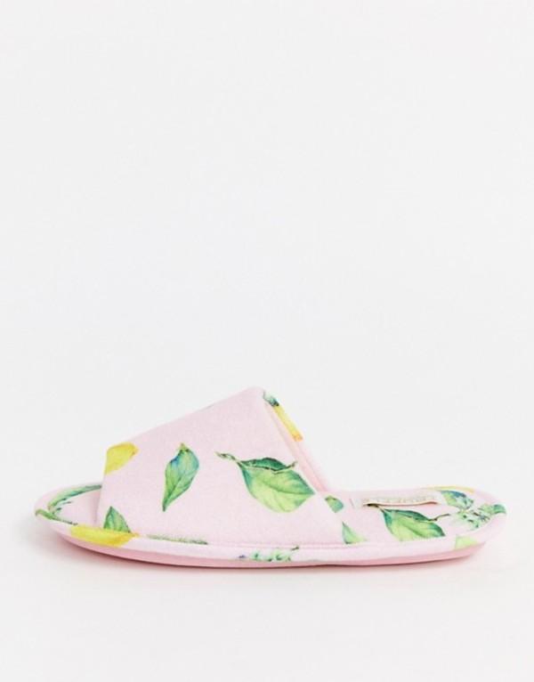 トリュフコレクション レディース サンダル シューズ Truffle Collection lemon summer slippers Lemon